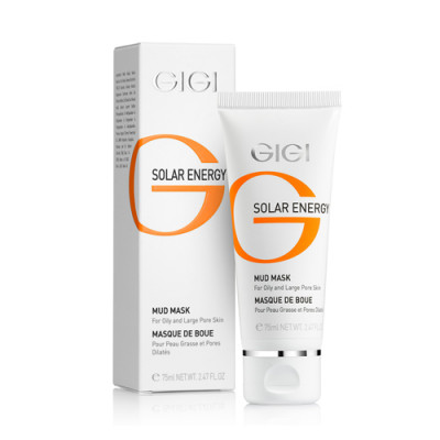 Маска грязевая GIGI Solar Energy Mud mask for oil skin 75 мл: фото