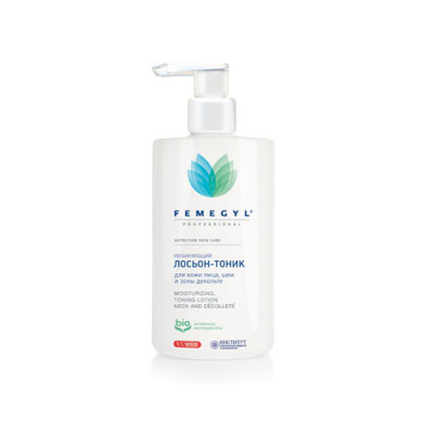 Лосьон Увлажняющий для кожи лица, шеи и зоны декольте FEMEGYL 400 мл: фото