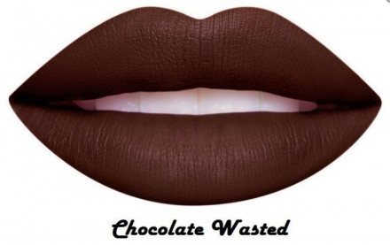 Матовая помада для губ Dose of Colors Matte Lipstick Chocolate Wasted: фото
