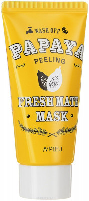 Маска-пилинг для лица с папайей A'PIEU Fresh Mate Papaya Mask Peeling 50мл: фото
