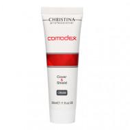 Крем с тоном защитный CHRISTINA COMODEX Cover&Shield Cream SPF20 30мл: фото