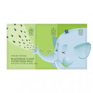 Набор для сужения и очищения пор носа NATURE REPUBLIC BLACKHEAD CLEAR 3-STEP NOSE PACK(7EA): фото