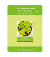 Маска тканевая экстракты трав Mijin Herb Essence Mask 23гр: фото