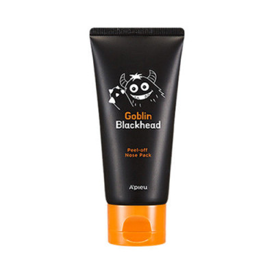 Маска-пленка для носа A'PIEU Goblin Blackhead Peel-Off Nose Pack 50мл: фото