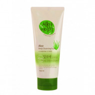 Пенка для умывания Welcos Cleansing Story Foam Cleansing (Aloe)120g 120гр: фото