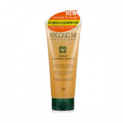 Шампунь для волос и кожи головы питательный Welcos Around Me Scalp Nourishing Shampoo 230мл: фото