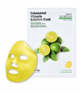 Маска для лица тканевая витаминная Eyenlip CALAMANSI VITAMIN SOLUTION MASK 25мл: фото