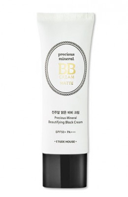 BB-крем матирующий ETUDE HOUSE Precious Mineral BB Cream Matte Sand SPF50+/PA+++: фото