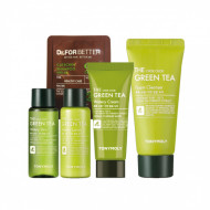 Набор для лица с зеленым чаем Tony Moly The Chok Chok Green Tea Watery Kit: фото