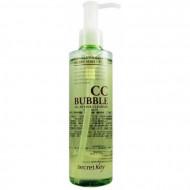 Средство для снятия BB и CC макияжа пенящее SECRET KEY CC Bubble All in One Cleanser 210 мл: фото