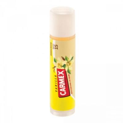 Бальзам для губ с ароматом ванили SPF15 Carmex в стике: фото