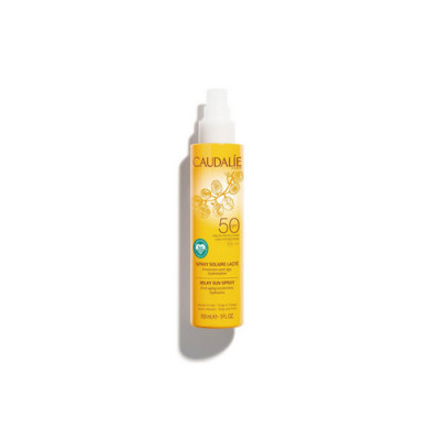 Солнцезащитное молочко-спрей для тела и лица Caudalie Teint&Soleil Divin SPF50 150 мл: фото