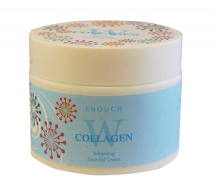 Крем для лица осветляющий ENOUGH W Collagen Whitening Essential Cream 50г: фото