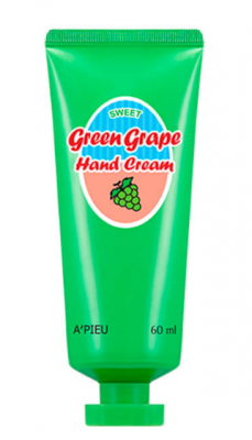 Крем для рук A'PIEU GREEN GRAPE HAND CREAM 60мл: фото