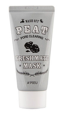 Маска для очищения пор A'PIEU Fresh Mate Peat Mask Pore Clearing: фото