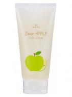 Скраб для лица яблочный Gain Cosmetic Moksha Dear apple scrub 150мл: фото