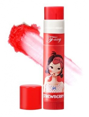 Бальзам для губ FASCY Lollipop STRAWBERRY Lip Balm 3,9г: фото