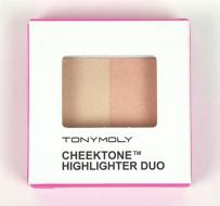 Хайлайтер Tony Moly Cheektone Highlighter Duo 01 4,5г