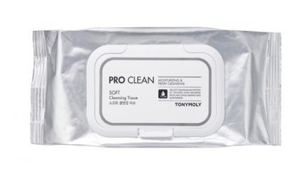 Очищающие салфетки Tony Moly Prо Clean Soft Cleansing Tissue 50шт: фото