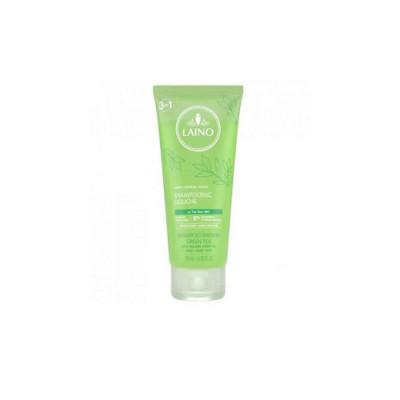 Органический шампунь 3 в 1 Laino для лица, волос и тела Зеленый Чай 200 мл: фото