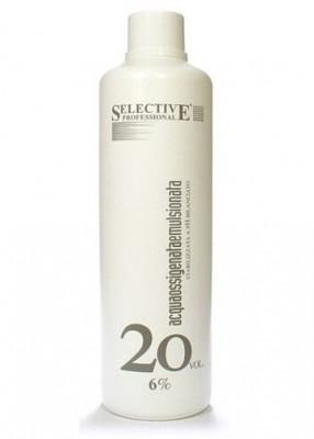 Оксигент 6% для олигоминеральной крем-краски SELECTIVE Professional Acqua Ossigenata Emulsionata 1000мл: фото