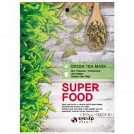 Маска для лица тканевая EYENLIP SUPER FOOD GREEN TEA MASK 23мл: фото