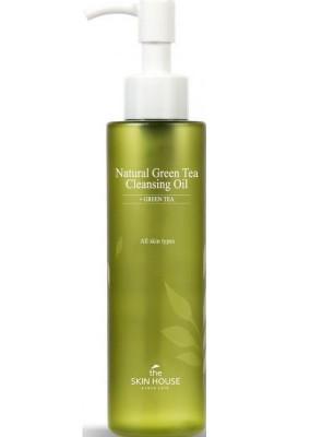 Гидрофильное масло с экстрактом зелёного чая The Skin House Natural Green Tea Cleansing Oil 150мл: фото