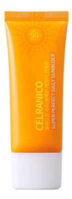 Солнцезащитный крем для лица CELRANICO Super Perfect Daily Sunblock SPF50/Pa+++ 40мл: фото