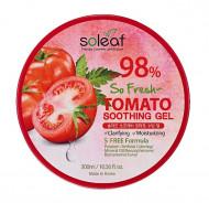 Гель универсальный для лица и тела с томатом Soleaf So Fresh Tomato Soothing Gel 300 мл: фото