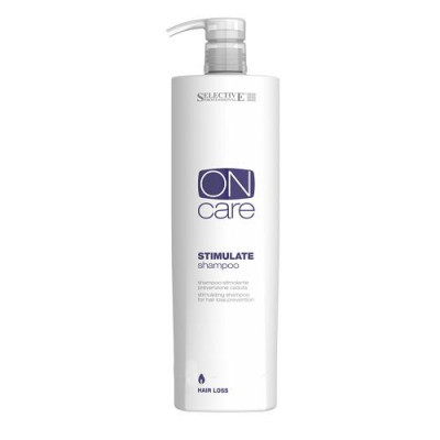 Шампунь стимулирующий шампунь против выпадения волос Stimulate Shampoo SELECTIVE Professional 1000мл: фото