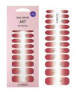 Наклейки для ногтей THE SAEM Nail Wear Art Gel Sticker 03 Rose Syrup: фото