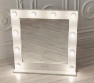 Зеркало для визажиста, 75*75 см Lucas' Cosmetics, белое: фото
